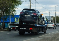Эвакуатор на шасси Hyundai HD78 #Р 072 ХА 72 . Тюмень, улица Тимуровцев