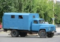 Аварийно-ремонтная машина водоканала на шасси ГАЗ-52-01 #Е 003 КК 45. Курган, улица Куйбышева