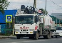 Бортовой грузовой автомобиль с КМУ Hyundai GOLD #О 172 ХК 72 . Тюмень, улица Тимуровцев