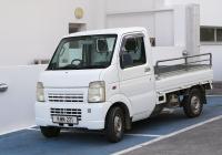 Бортовой грузовик Suzuki Carry #KMM 221. Республика Кипр, муниципалитет Айя-Напа, проспект Криу Неру