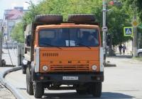 Самосвал КамАЗ-55111 #A 504 BH 45.  Курган, улица Куйбышева