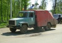 Подметально-уборочная машина ПУМ-1 на шасси ГАЗ-3307. г.Рязань