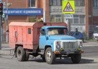 Машина для текущего ремонта дорог и тротуаров МТРДТ на шасси ГАЗ-53-12 #Т 810 АС 45. Курган, улица Куйбышева