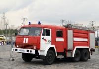 Пожарная автоцистерна АЦ-40-2,5(53211)-240 на шасси КамАЗ-53211. Москва, площадь Васильевский спуск