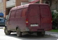 """Фургон ГАЗ-2705 """"Газель"""" #О 243 ВТ 72 . Тюмень, Широтная улица"""