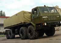 Экспериментальный бортовой грузовой автомобиль КрАЗ-6Э6316 . Полтавская область, Кременчуг