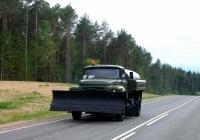 Поливомоечная машина АКПМ-3 на шасси ЗиЛ-431412. Смоленская область, Шумячский район, автодорога А-130