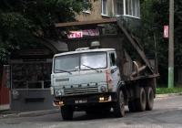 Бункеровоз на шасси КамАЗ. Калуга, Октябрьская улица