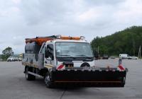 Коммунальная машина Giletta на шасси Mitsubishi Canter. Калуга, набережная Яченского водохранилища