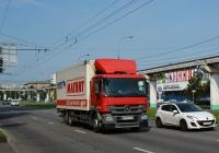 Фургон Mercedes-Benz Actros #О 539 АК 37. Москва, улица Академика Королёва