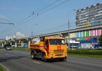 Самосвал аварийной службы КамАЗ-43255 #В 623 ТА 777. Москва, улица Академика Королёва
