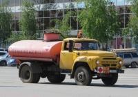 Автомобиль ЗиЛ-431412 переделанный в Автогудронатор #Т 784 АС 45. Курган, улица Ленина