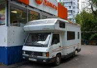 Автодом (кемпер) Mercedes-Benz MB 100D Karmann #Н 972 ВТ 77. Москва, улица Павла Корчагина