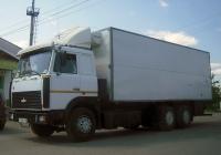 Фургон на шасси МАЗ-6303 #С 858 МТ 96 . Свердловская область, Тугулым