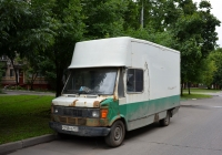 Цельнометаллический фургон на Mercedes-Benz T1 #С 748 УВ 197. Москва, улица Приорова
