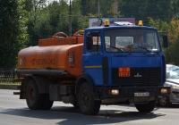 Топливозаправщик на шасси МАЗ-5337 #Х 197 ММ 96 . Екатеринбург, проспект Космонавтов