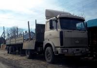 Седельный тягач МАЗ-5432 #Х 952 ОР 96 . Свердловская область, Луговской, улица Гагарина