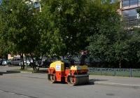 Дорожный каток Dynapac #1985 ВО 77. Москва, 3-й Михалковский переулок
