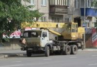 Автокран КС-4572А на шасси КамАЗ-53213 #К 907 АР 45. Курган, улица Карла Маркса