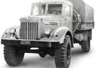 Бортовой грузовой автомобиль МАЗ-502 #БО 82-53 . Минск