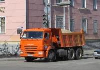 Самосвал КамАЗ-45147 #А 448 МВ 45. Курган, улица Ленина