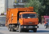 Мусоровоз МКМ-4704 на шасси КамАЗ-651153 #А 008 НР 196. Курган, Станционная улица