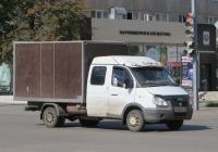 """Фургон АФ-3717YB на шасси ГАЗ-33023 """"Газель"""" #Х 396 КС 45. Курган, улица Куйбышева"""