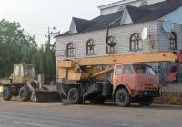 Погрузчик ПК-27 и автокран МКАС-10 на шасси МАЗ-5334. Кировоградская область, с. Хащеватое