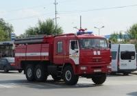 Пожарная автоцистерна АЦ-8,0-70(43118) на шасси КамАЗ-43118 #С 007 КН 45. Курган, улица Ленина