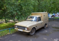 Грузопассажирский фургон ИЖ-2715 #С 655 НУ 97 . Москва, Новоалексеевская улица