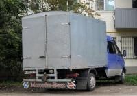 """Фургон на шасси ГАЗ-33023 """"Газель"""" #А 999 ОУ 72 . Тюмень, Киевская улица"""
