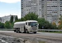 Молоковоз Scania 114 G380  #AХ 8679 СI. Харьковская область, г. Харьков, Окружная дорога