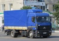 Бортовой грузовик МАЗ-5340 #Е 640 УС 196.  Курган, улица Куйбышева