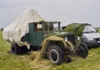 """Грузовой автомобиль ЗиС-5В (машина в процессе реставрации). Самарская область, с. Красный Яр, аэродром """"АэроВолга"""""""