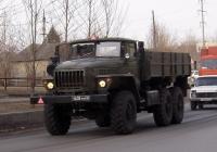 Бортовой грузовой автомобиль Урал-4320 #4638 УМ 76 . Тюмень, Пролетарская улица