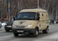 """Инкассаторский автомобиль на базе ГАЗ-2705 """"Газель"""" #О 176 СХ 72 . Тюмень, Северная улица"""