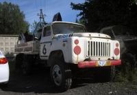Бортовой грузовой автомобиль ГАЗ-53-12. Тюмень, улица Черепанова