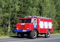 Пожарный автомобиль на базе ГАЗ-66* #ТВ 3872. Беларусь, Могилёвская область, Климовичский район, автодорога Р-75