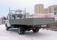 """Бортовой грузовой автомобиль ГАЗ-3302-288 """"Газель-Бизнес"""" #Р 005 ЕА 72 . Тюмень, улица Менделеева"""