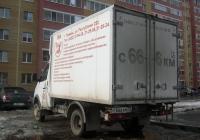 """Фургон 2775 на шасси ГАЗ-3302 """"Газель"""" #С 666 КМ 72 . Тюмень, улица Щербакова"""