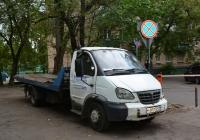 """Эвакуатор на шасси ГАЗ-331043 """"Валдай""""  #Н 811 ХС 197. Москва, Угловой переулок"""