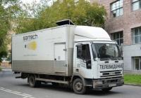 Фургон на шасси Iveco Tector #С 651 СУ 777. Москва, Угловой переулок