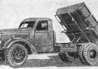 Автосамосвал ЗиС-ММЗ-585. Место съёмки неизвестно