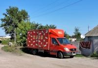 Хлебный фургон на базе Mercedes-Benz Sprinter #АХ 7630 СХ. Харьковская область, пгт Васищево, Вишневая улица