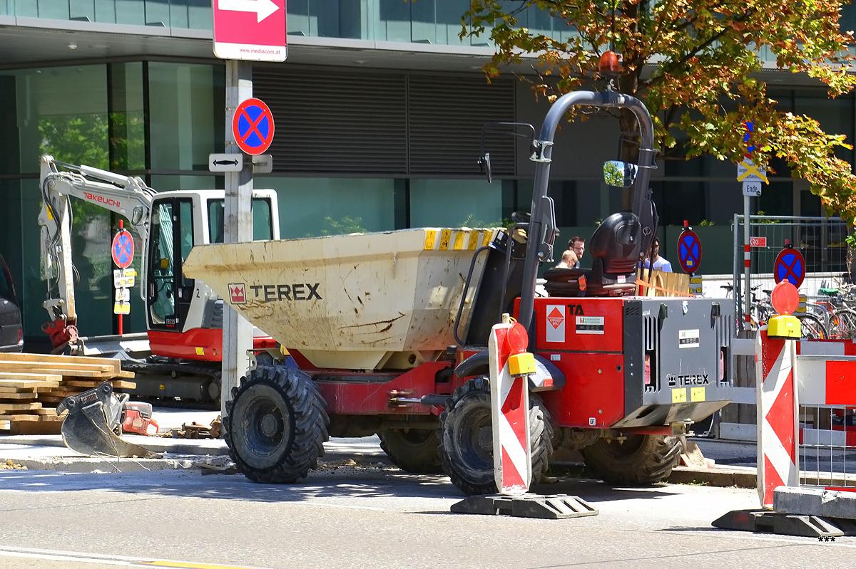Думпер Terex TA. Австрия, Вена
