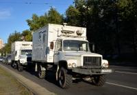 "Фургон на шасси ГАЗ-33081 ""Садко"" #А 137 ЕВ 62. Москва, улица Зои и Александра Космодемьянских"