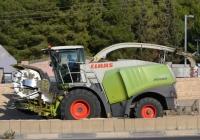 Кормоуборочный комбайн Claas Jaguar 900. Израиль, Северный округ, шоссе №70