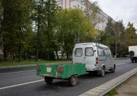 Автомобильный прицеп #6378 ЭГ. Москва, улица Зои и Александра Космодемьянских