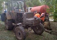 Трактор ЮМЗ-6. г. Самара, ул. Сергея Лазо