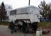 Будка Jelcz-574 на шасси прицепа. Алтайский край, Барнаул, площадь Победы